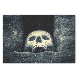 Halloween Skull Grin Tissue Paper