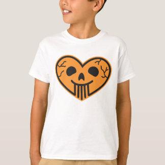 Halloween Skull Heart Kids' T-shirt