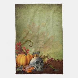 Halloween Skull Kitchen Towel
