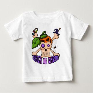 Halloween Skull Montage Baby T-Shirt