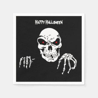 Halloween Skull Standard Cocktail Napkins Paper Napkins