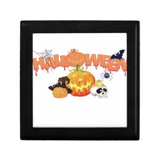 Halloween Small Square Gift Box