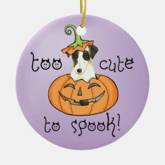 Halloween Smooth Fox Terrier Christmas Ornament