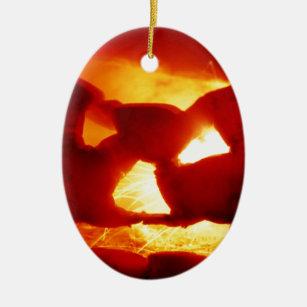 Halloween  sparky pumpkin christmas ornament