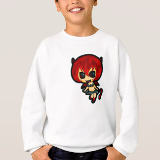 Halloween Special Devil Girl Kids Jumper Sweatshirt