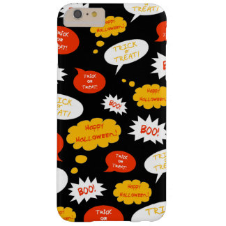 Halloween Speech Bubble Barely There iPhone 6 Plus Case