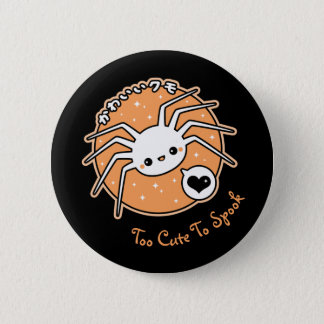 Halloween Spider 6 Cm Round Badge