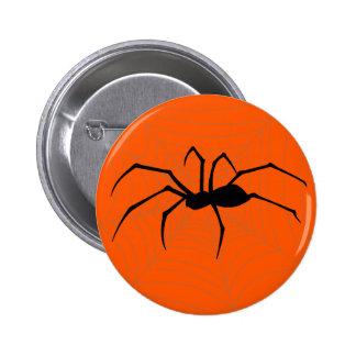 Halloween Spider Button