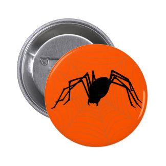 Halloween Spider Pinback Buttons