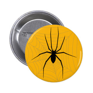 Halloween Spider Buttons