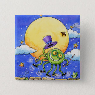 Halloween Spider Button