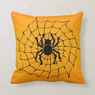 Halloween Spider Cushion