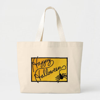 Halloween Spider Decoration Jumbo Tote Bag