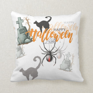 Halloween Spider Grave Cushion