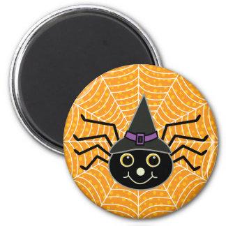 Halloween Spider 6 Cm Round Magnet