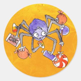 Halloween Spider Stickers