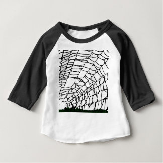 Halloween Spider Web Baby T-Shirt