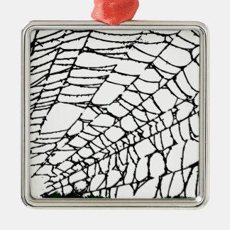 Halloween Spider Web Christmas Ornament