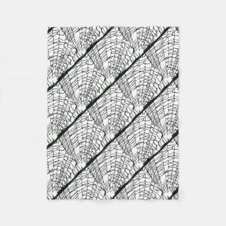 Halloween Spider Web Fleece Blanket