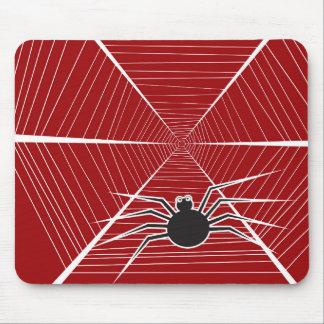 Halloween Spider Web Fun Cartoon Custom Mousepad