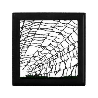 Halloween Spider Web Gift Box