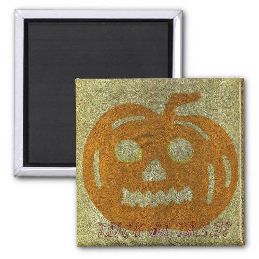 Halloween Spider Web Trick or Treat Magnet
