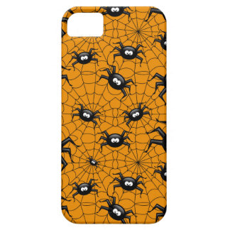 halloween spiders on spider web iPhone 5 cases