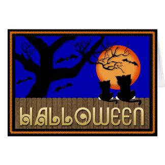 Halloween Spirit Greeting Card