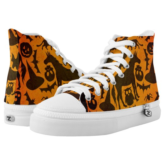 Halloween Spook Unicorn High Tops