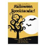 Halloween Spooktacular- Orange Invitation