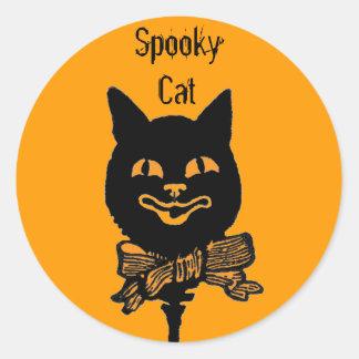 Halloween Spooky Cat Fun Stickers