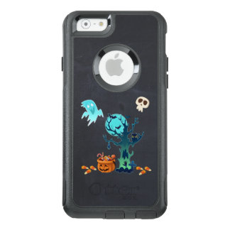Halloween Spooky Creepy Ghosts Bats Skulls & Candy OtterBox iPhone 6/6s Case