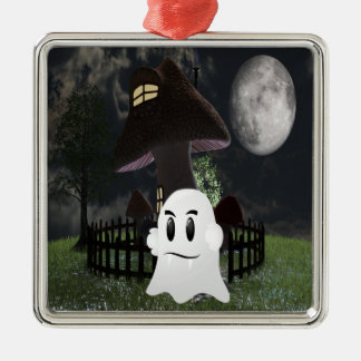 Halloween spooky ghost christmas ornament