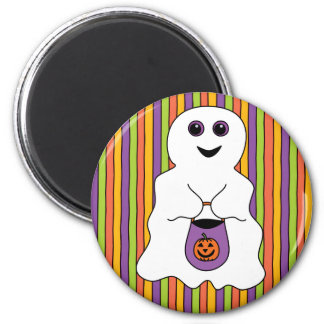 Halloween Spooky Ghost Trick-or-treater Magnet