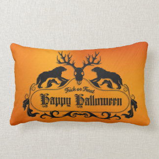 Halloween - Spooky Happy Halloween - All Options Lumbar Cushion