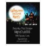 Halloween Spooky House 11.5 Cm X 14 Cm Flyer