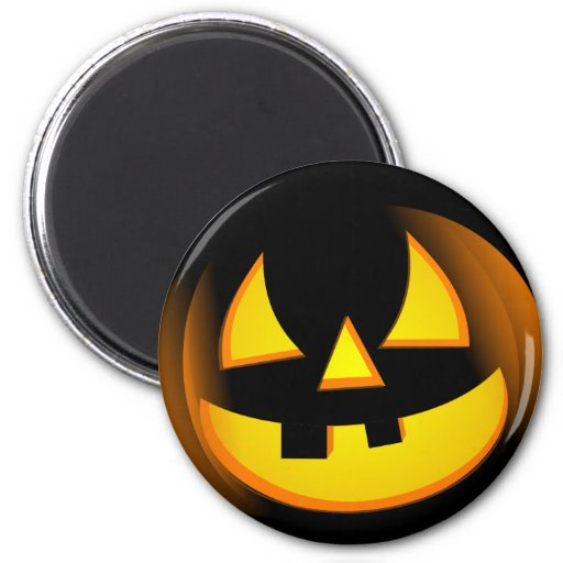 Halloween - Spooky Pumpkin Magnet