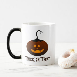 Halloween Spooky Scary Jack O Lantern Pumpkin Magic Mug