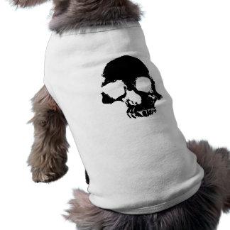 Halloween spooky skull shirt