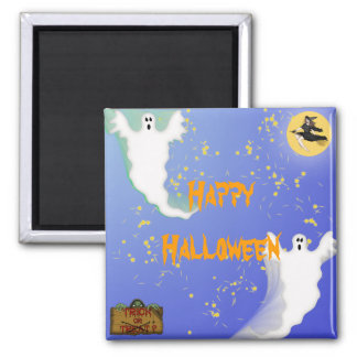 Halloween Square Magnet