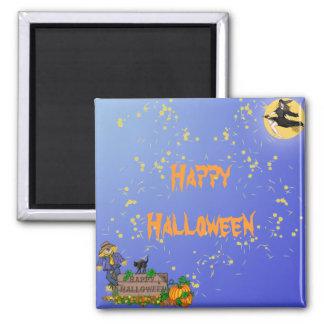 Halloween Square Magnet