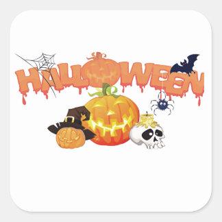 Halloween Square Sticker