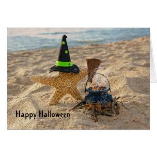 Halloween Starfish Card