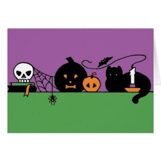 Halloween Still Life Card