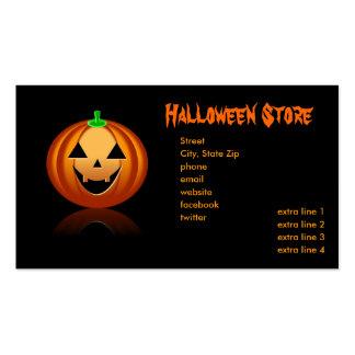 Halloween Store Business Card Template