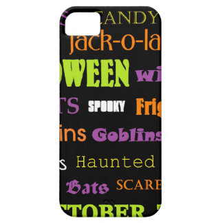 Halloween Subway Art Words Case For The iPhone 5