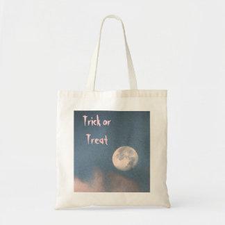Halloween Sunrise Moon Tote Bag