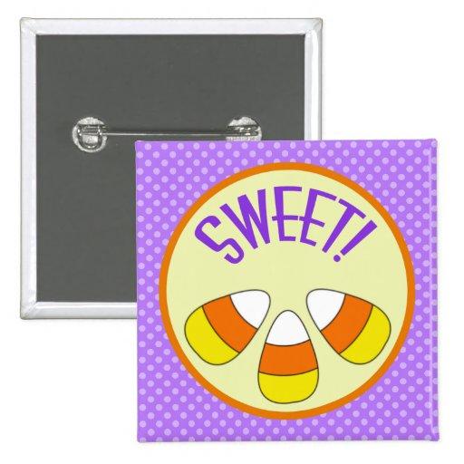 Halloween Sweet Candy Corn Button