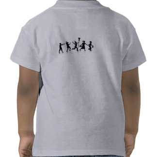 HALLOWEEN T SHIRT KIDS TOP BLACK AND WHITE