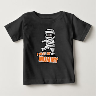 Halloween T-shirt: Mummy Baby T-Shirt
